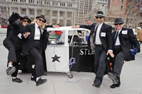 Blues Brothers & the Bluesmobile!