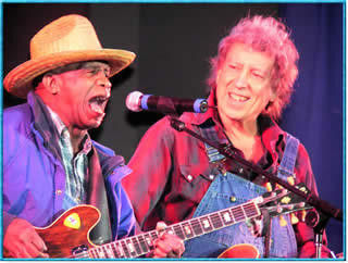 Smokey Smothers and Elvin Bishop