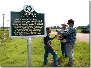 Mississippi John Hurt honored with a state historic marker