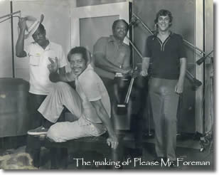 The 'making of' Please Mr. Foreman