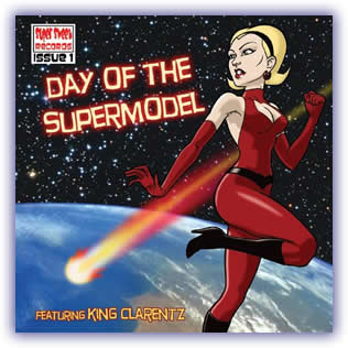 CD image -King Clarentz – Day of the Supermodel
