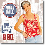 Image of Marcia's new CD Peace, Love & BBQ